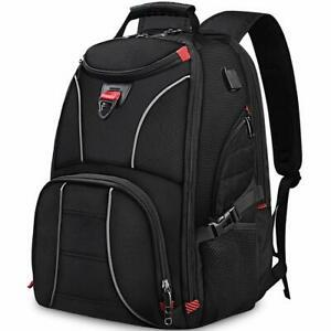 Nubily sac à dos ordinateur portable homme 17,3 pouces sac