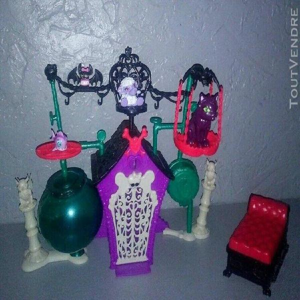 accessoires poupée monster high crypte creepers
