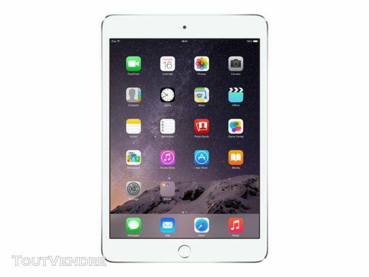 """apple ipad mini 3 wi-fi 16 go argenté retina 7.9"""""""