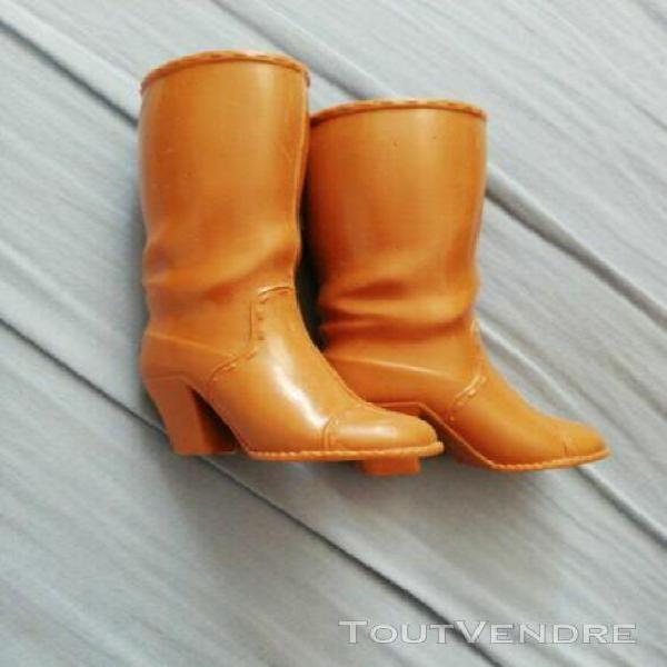 bottes marron pour cathy bella
