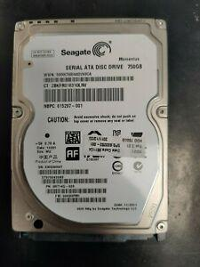 disque dur 750 go 2.5'' seagate