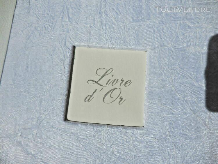 luxueux livre d'or mariage relie finissions toile blanche fr