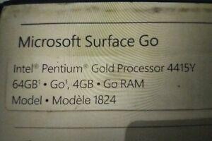 "microsoft surface go 10"" version 64 go ram 4 go"