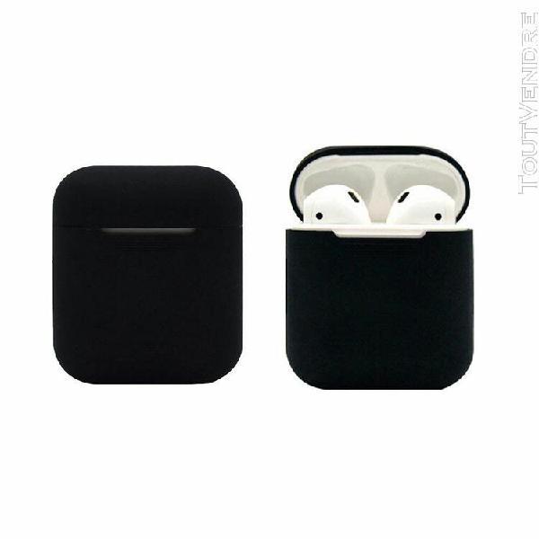 pour airpod silicone coque de protection pour apple peau air