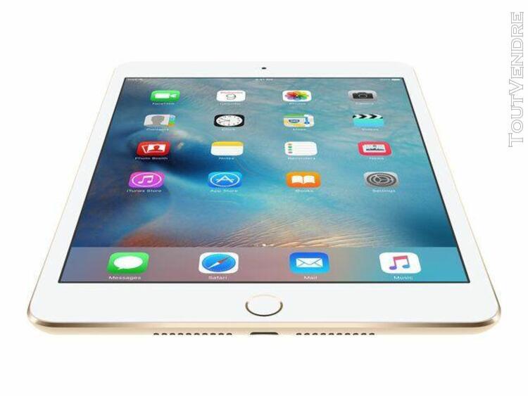 tablette apple ipad mini 4 wi-fi + cellular 128 go 7.9 pouce