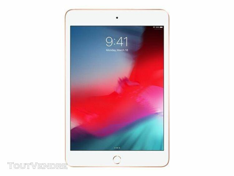 tablette apple ipad mini 5 wi-fi 256 go 7.9 pouces or