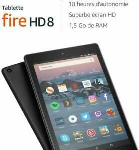 """tablette fire hd 8, Écran hd 8"""" (20,3cm), 16go (noir) -"""
