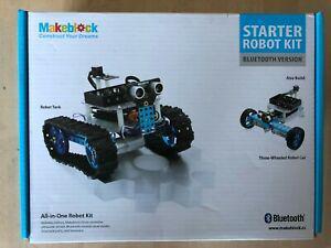Kit robot makeblock starter robot kit (bluetooth® version)