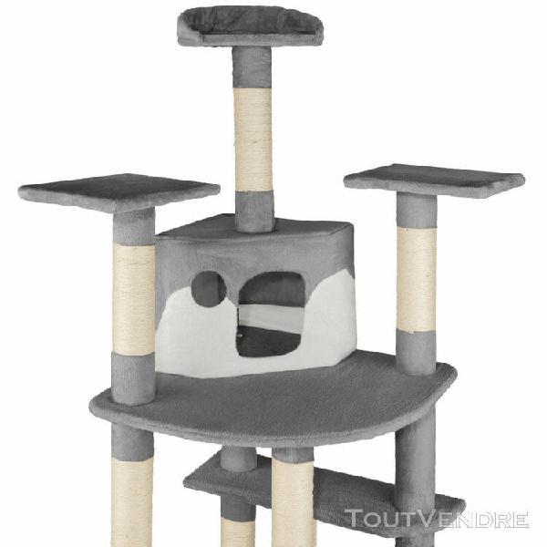 Arbre à chat griffoir grattoir sisal hamac hauteur 201 cm