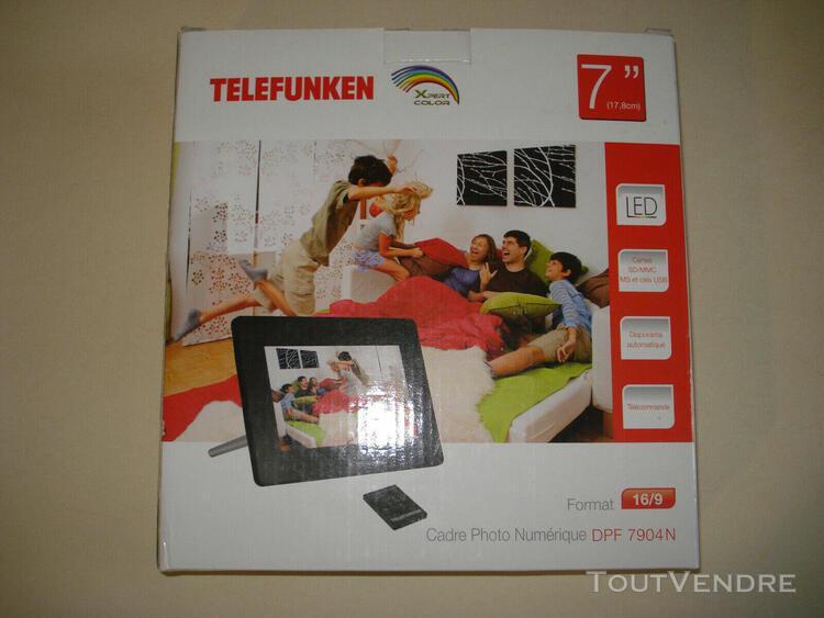 Cadre photo numérique telefunken dpf 7904n