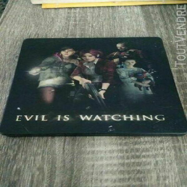 Capcom resident evil biohazard revelations 2 steelbook case