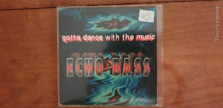 Cd 4 titres de echo-bass - gotta dance with the music ***cd