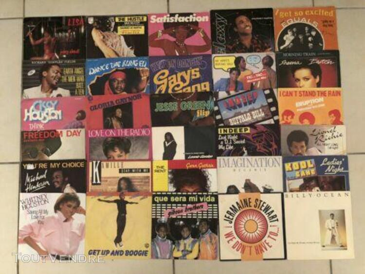 """gros lot de 209 disques vinyles funk 45t / 7"""""""