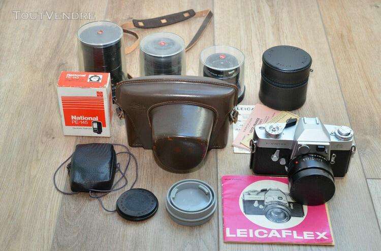 "Leica / leitz wetzlar leicaflex standard mk 1 ""early version"