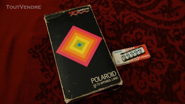 Polaroid sx70 land camera sonar autofocus - modèle luxe -