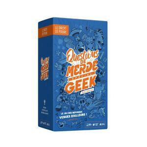 Questions de merde geek nouvelle version (français) neuf