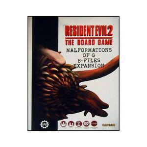 Resident evil 2 the board game: malformation of g expansion