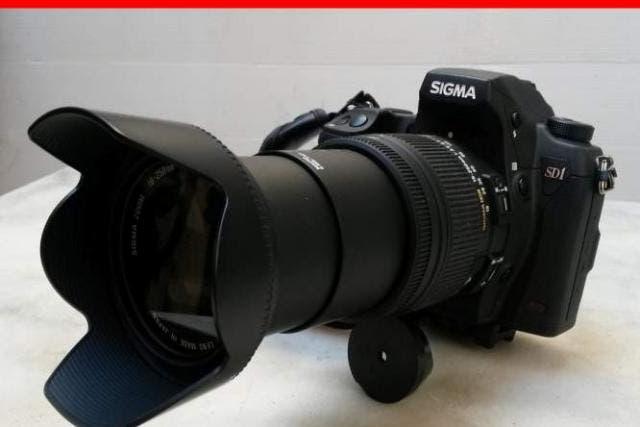 Sigma sd1 merrill + zoom 18x250 macro
