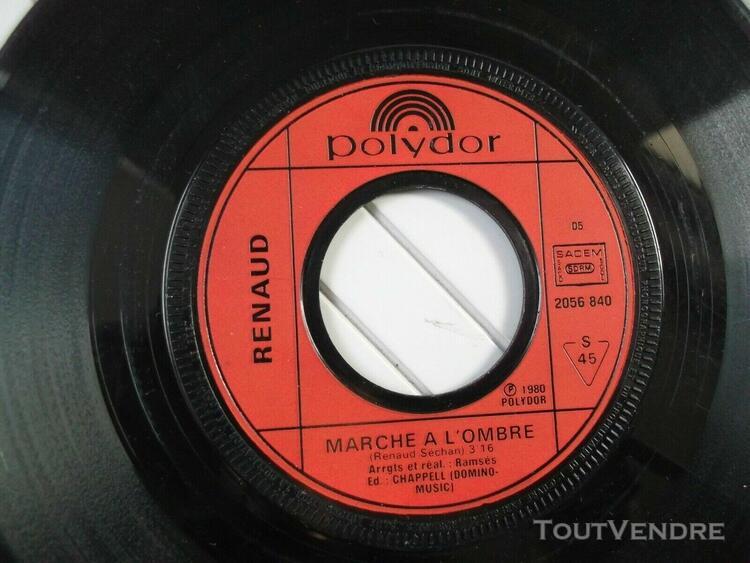 """Vinyles originaux de.."""" renaud """" / 1 x 33t + 2 x 45t../.."""" m"""