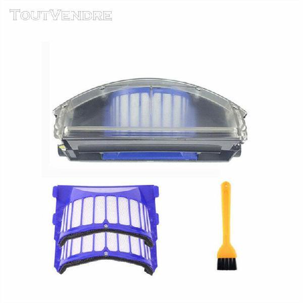 Dust bin & filtrer et brosse de nettoyage accessoires pour r