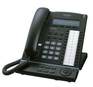 Panasonic kx-t7630 digital phone black