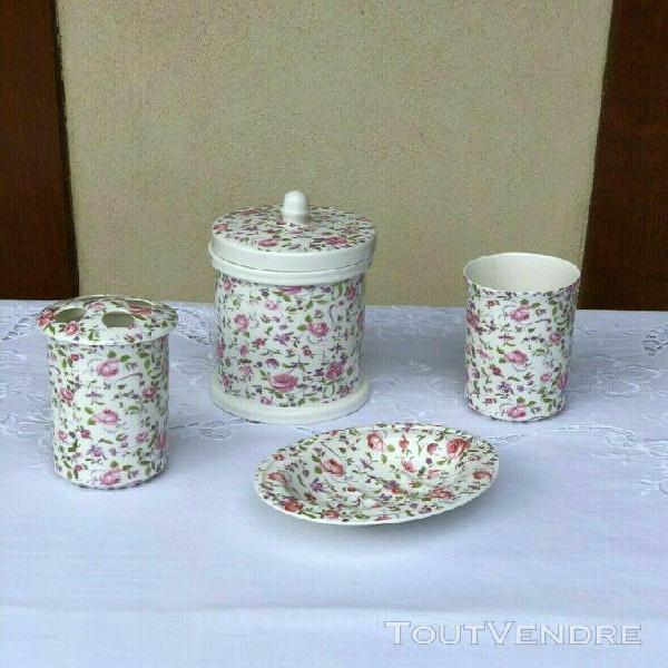 Porcelaine salle bain pot offres octobre clasf - Ustensiles salle de bain ...