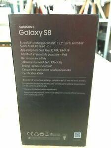 Téléphone portable samsung galaxy s8 64gb midnight black