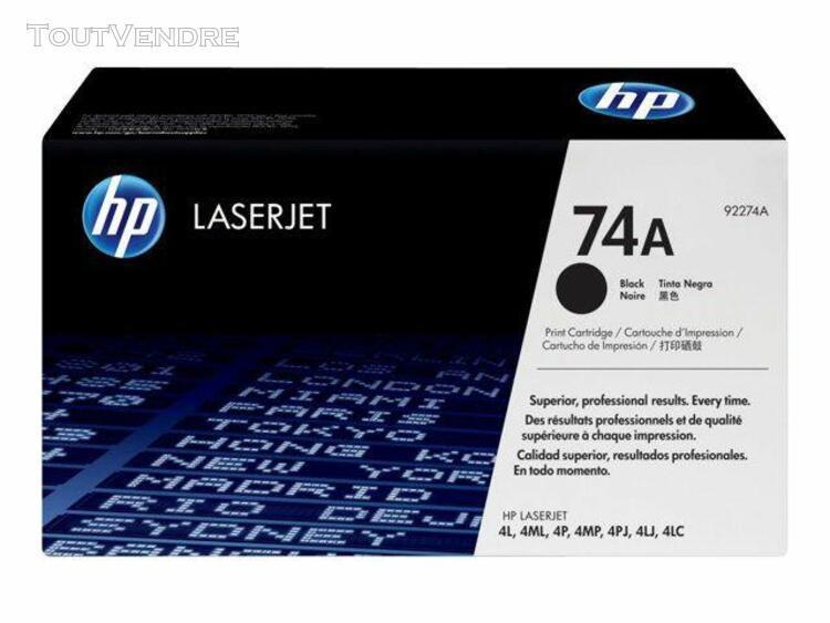 Hp laserjet 74a - noir - originale - laserjet - cartouche de