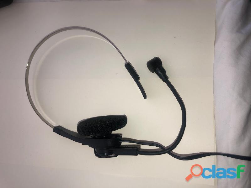 Téléphone mains libres filaire + casque