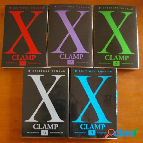 X (5 tomes), clamp