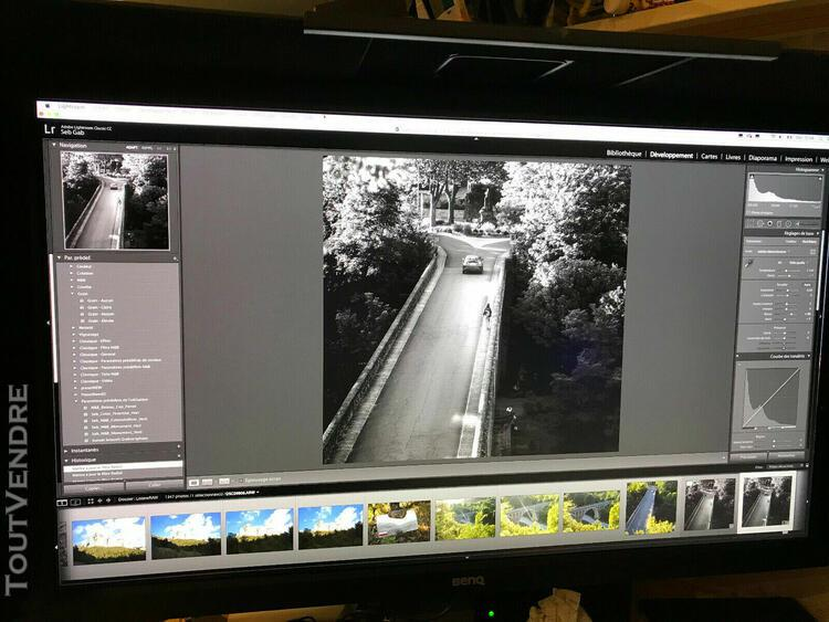 Benq sw2700pt écran pour photographes, qhd 2560 x 1440, 99%