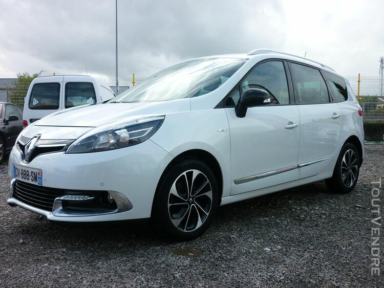 Renault grand scénic iii dci 130cv 7 places energy bose