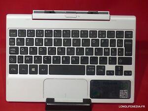 Toshiba satellite click mini l9w-b - clavier azerty pour