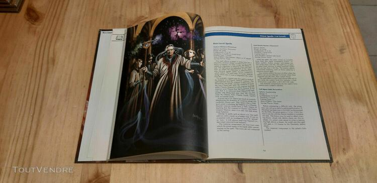 Ad&d 2nd edition - tsr - tome of magic - advanced dungeons &