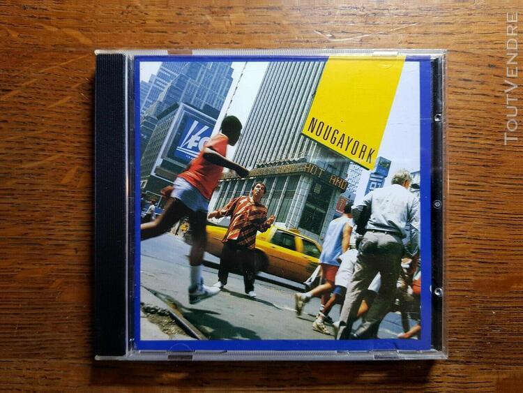 Claude nougaro – nougayork - cd album - 80's french