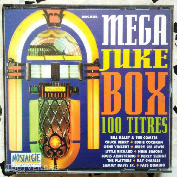 Compilation mega juke box - 4 cds - 100 titres