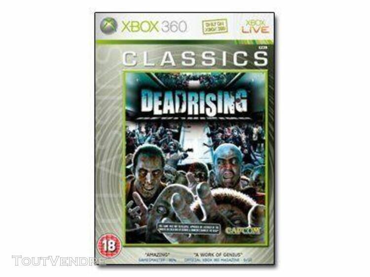 Dead rising classics - ensemble complet - xbox 360