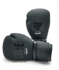 Gants de boxe leone - noir taille 10oz