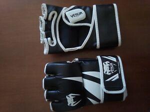 Gants venum pour sports de combat mma ou ufc en cuir pour