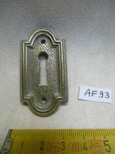 Entrée de clé ou de serrure en laiton style louis xvi h: