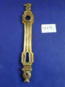 Paire de plaque de propreté en bronze (ref:. tr210)