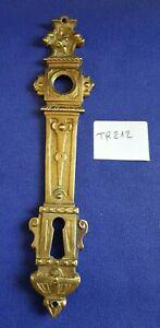Plaque de propreté bronze, entrée de serrure - poignée