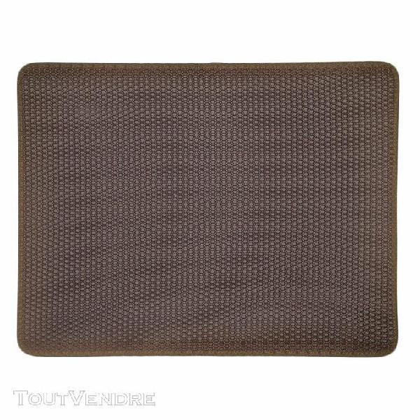 Double-couche cat mat trapper pliable pad pet tapis en mouss