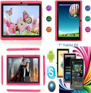 Rose Android 9.0 certifi/é par Google GMS Double Cam/éras Bluetooth 1Go RAM 16Go ROM Quad Core Tablet PC pour Enfants /& Adultes 1024*600 HD Haehne 7 Pouces Tablette Tactile WiFi