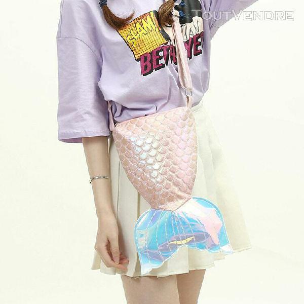 Mode féminine coloré sac bandoulière mignon de sucrerie