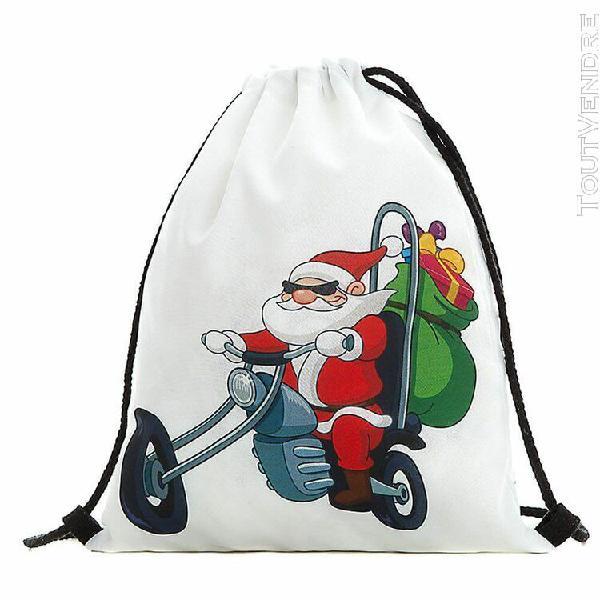 Noël bonbons sac-cadeau ensemble de poche père noël