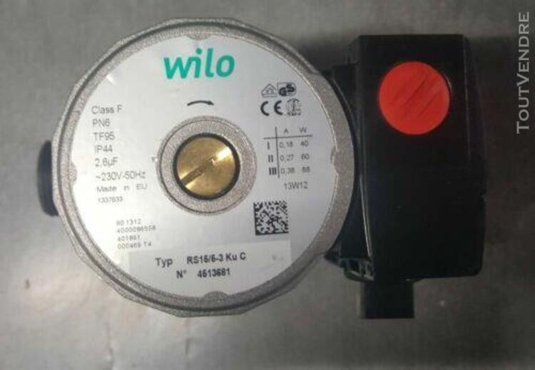 Pompe de chaudiere circulateur wilo rs 15/5-3 ku c occasion