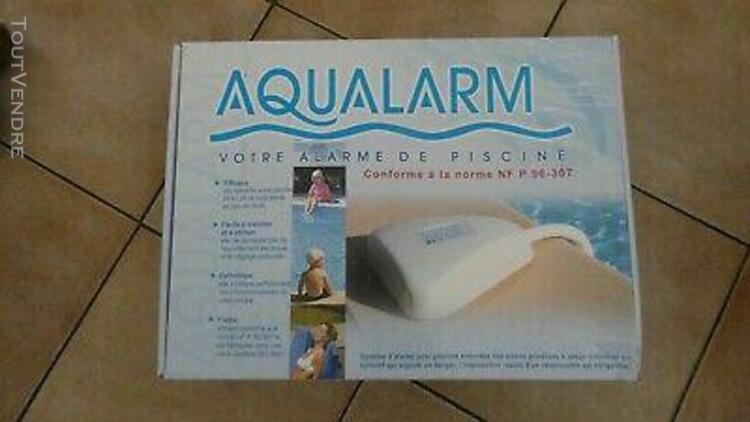 Alarme de piscine aqualarm neuve