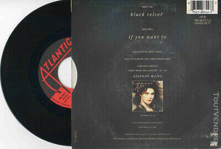 "Alannah myles ► black velvet - 45 tours / 7"" vinyle -"