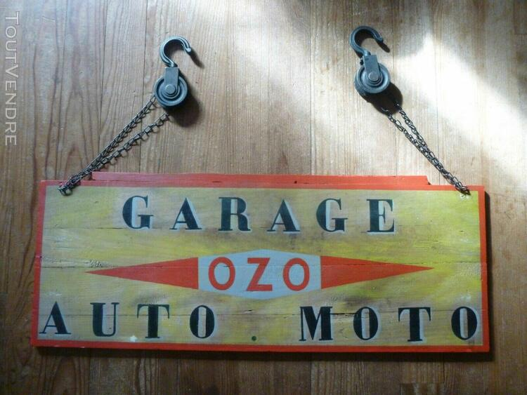 Deco loft indus panneau garage